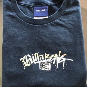Billabong Black graphic T-shirt